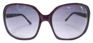 Steve Madden Steve Madden Women's S1050 PUR Rectangular Sunglasses,Purple Frame/Purple Flash Lens,one size
