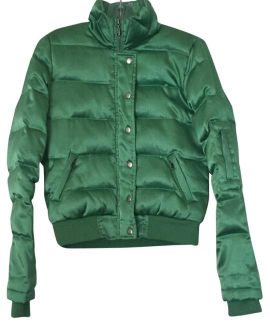 Preload https://item3.tradesy.com/images/juicy-couture-green-11571-puffyski-coat-size-8-m-1470377-0-0.jpg?width=400&height=650