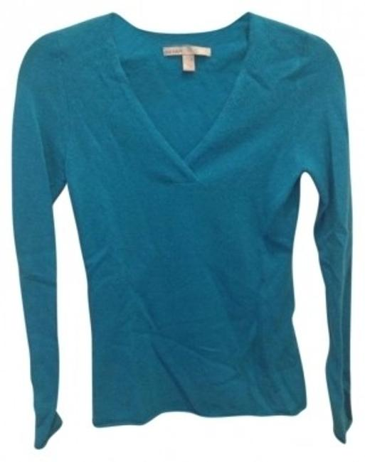 Preload https://item2.tradesy.com/images/old-navy-bright-blue-cashmere-sweaterpullover-size-2-xs-147041-0-0.jpg?width=400&height=650