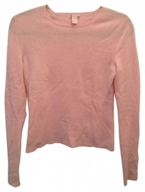 Preload https://item4.tradesy.com/images/light-pink-cashmere-sweaterpullover-size-2-xs-147043-0-0.jpg?width=400&height=650