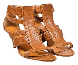 Givenchy Tan Leather Brown Sandals