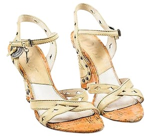 Dior Christian Leather Beige Sandals