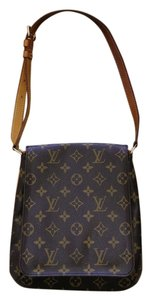 Louis Vuitton Musette Salsa Luxury Designer Monogram Shoulder Bag