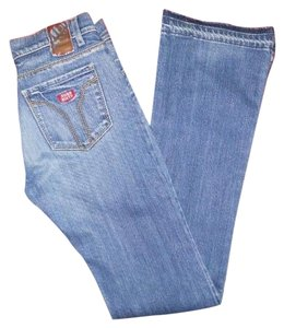 Miss Sixty Boot Cut Jeans-Medium Wash