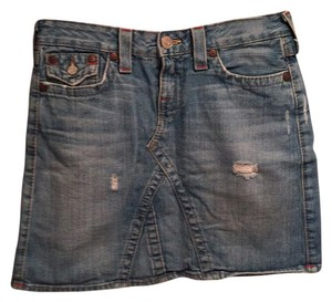 True Religion Mini Skirt
