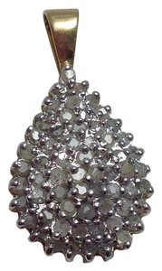 Other 10K CZ GOLD PENDANT