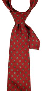 Christian Dior Christian Dior 100% Silk Red Tie: MSRP $275