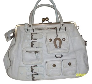 Betsey Johnson Satchel in Gray