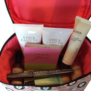 Benefit New Benefit Make up Bag Cosmetic Case with samples