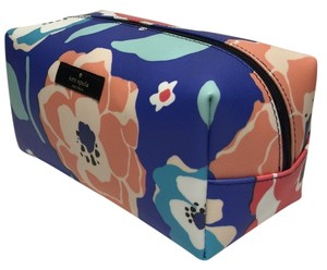 Kate Spade Kate Spade Newbury Lane Printed Medium Davie Cosmetic Case WLRU2544 Chery Floral