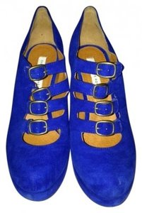 Charlotte Ronson Royal Blue Pumps
