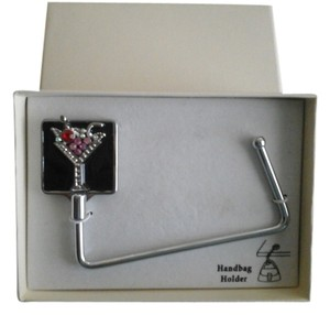 Other NEW- Handbag Holder/Hanger with Rhinestones Martini Glass !