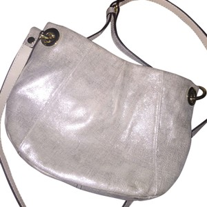 Vince Camuto Silver Handbag Cross Body Bag