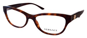 Versace Women's Eyeglasses Optical Frame Tortoise 51mm