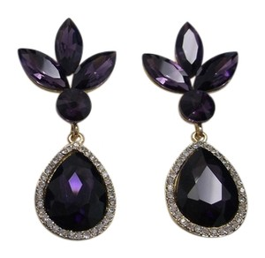 Other Purple Passion Fashion Earrings w Box and Free Shipping