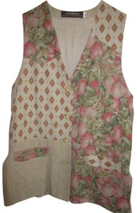 Lutton & Horsefield Spring Vest Linen Artistic Tunic