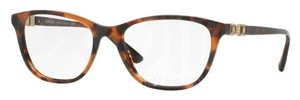 Versace Eyeglasses Optical Frame Tortoise Gold with Crystals