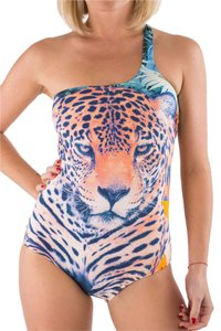 Just Cavalli NEW Just Cavalli Luxury One Piece Leopard Print Swimsuit S-M / 44