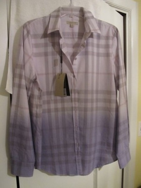 Burberry Top lavender and taupe/grey