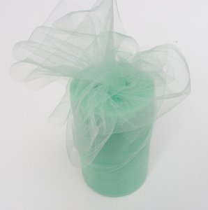 Mint Tulle Huge Roll - 100 Yd X 6 In Mint Tulle Spool - Tulle Roll Free Ship
