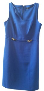 Ann Taylor Sheath Sleeveless Fitted Dress