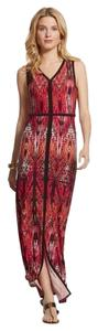 Multi red Maxi Dress by Chico's