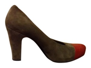 Nine West gray red Pumps