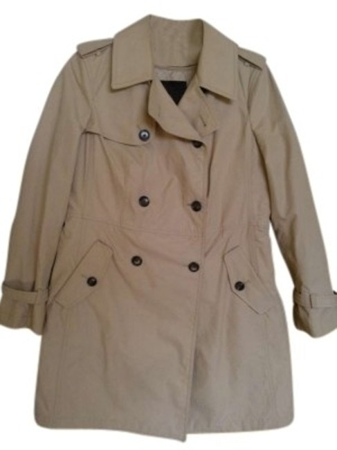 Preload https://item5.tradesy.com/images/talbots-taupe-trench-coat-size-petite-6-s-147114-0-0.jpg?width=400&height=650