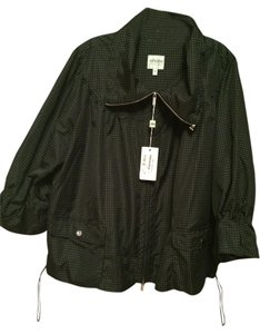 Armani Collezioni Black with white polka dots Jacket