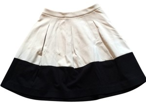Express Skirt Black/beige