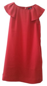 Banana Republic Ruffle Sheath Classic Fall Dress