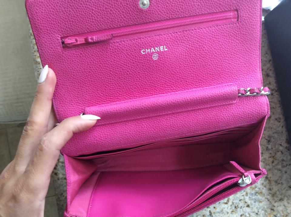Chanel Wallet On Chain Hot Woc Shw Pink Caviar Leather Cross Body Bag Tradesy