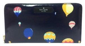 Kate Spade New Kate Spade Daycation Neda Zip Around Wallet Navy Balloon