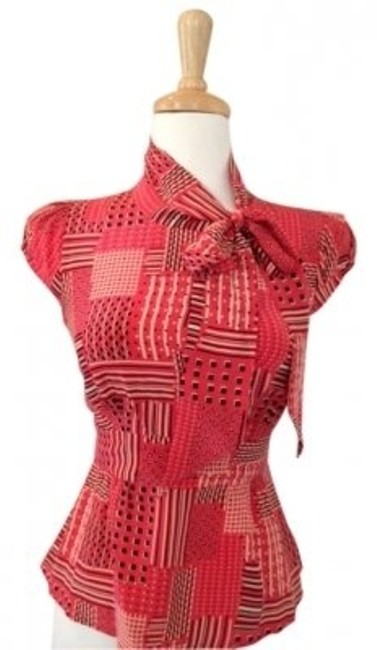Preload https://item5.tradesy.com/images/anthropologie-red-odille-retro-xs-abstract-secretary-tie-neck-blouse-size-2-xs-147129-0-0.jpg?width=400&height=650