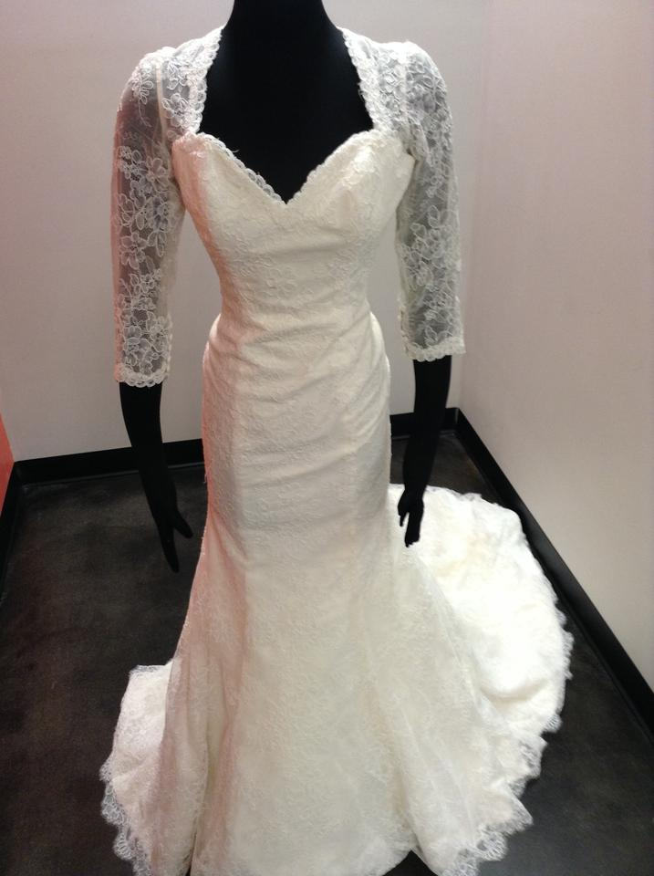 Mori Lee Ivory/Champagne Lace 5275 Vintage Wedding Dress Size 10 (M ...
