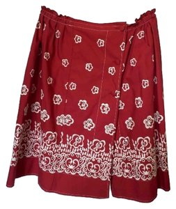 Miu Miu Skirt Red