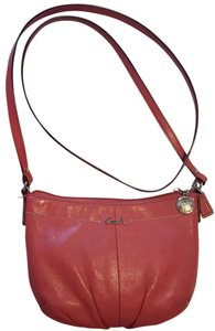 Coach Leather Small Day Time Cross Body Bag