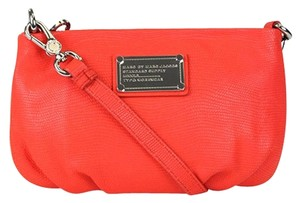 Marc by Marc Jacobs Classic Q Lizard Percy Red Cross Body Bag