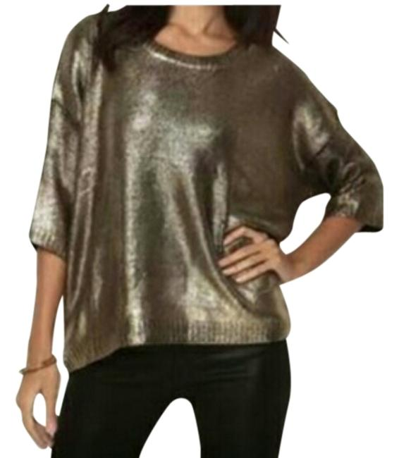 Preload https://item3.tradesy.com/images/fashionette-style-boutique-gold-sweaterpullover-size-8-m-1471427-0-0.jpg?width=400&height=650