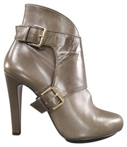 Etro Harness Taupe Green Boots