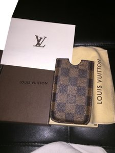 Louis Vuitton Louis Vuitton Damier Ebene Canvas iphone 4 Case