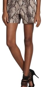 BCBGMAXAZRIA Dress Shorts Snake print