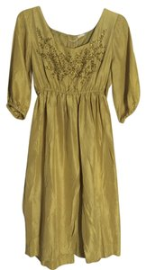 Matta short dress Gold on Tradesy