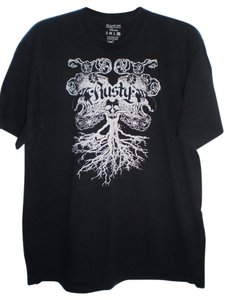 Rusty T Shirt black