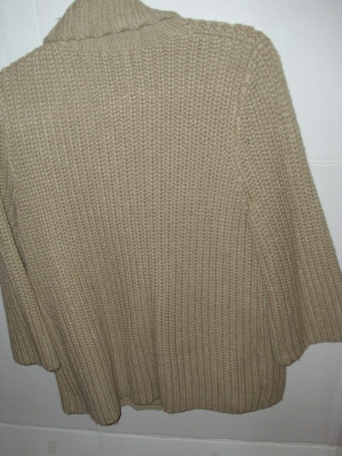 Merona Thick Wide Collar Flyaway Sweater Neutral Gift Cardigan Image 2