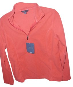 Lands' End fleece pullover sweatshirt track suit top thermal shirt
