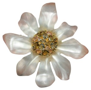 Alexis Bittar Alexis bittar Brooch Large Carved Lucite flower