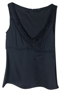 Elie Tahari Top Navy