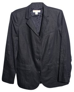 Michael Kors Linen Mens dark midnight Blazer