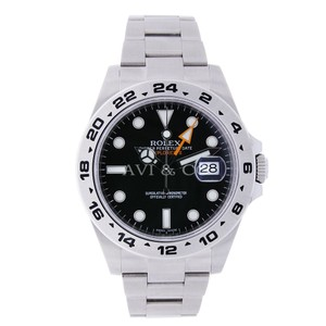 Rolex Rolex Explorer II Stainless Steel Watch Black Dial 216570